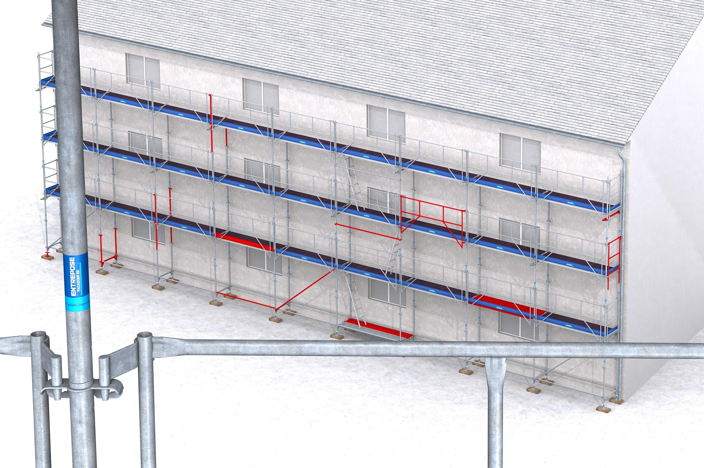 Devis Rénovation Façade à Louviers ▷ Tarif Ravalement Façadier